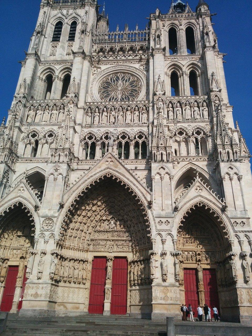 Cathédrale Notre-Dame d'Amiens - Cathédrale Notre-Dame de Paris