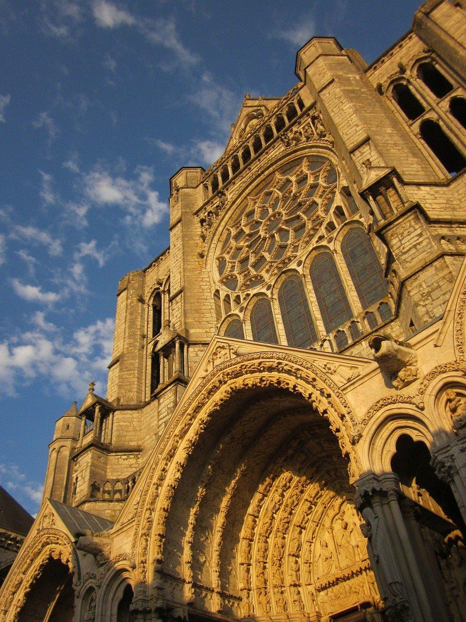 Cathédrale de Chartres - Architecture romane