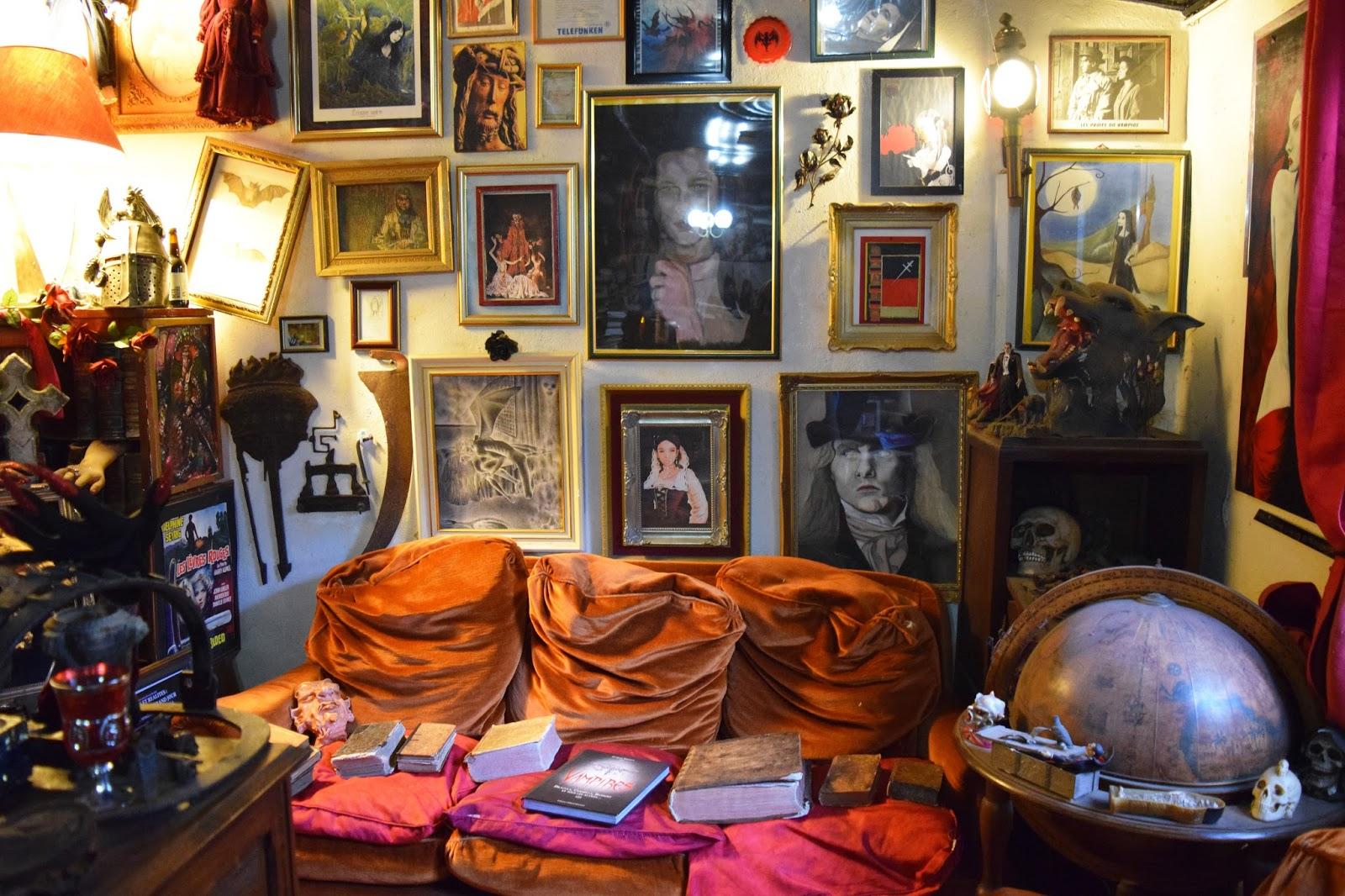 Paris secret : Le Musée Des Vampires
