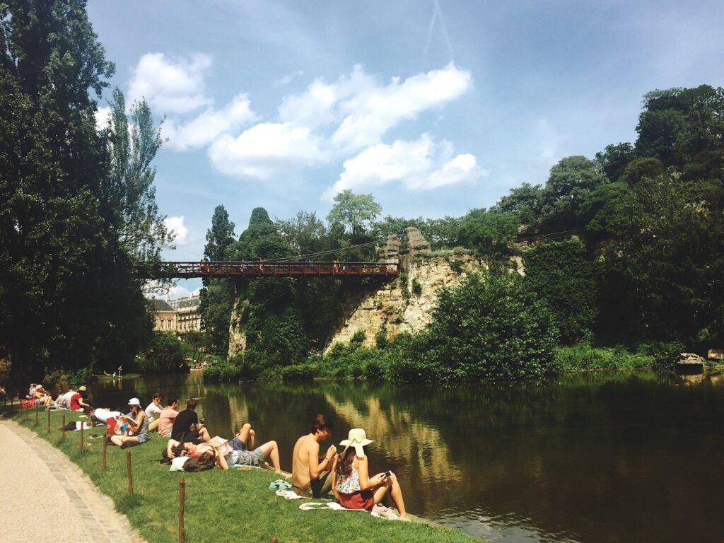 Parc des Buttes-Chaumont - des loisirs
