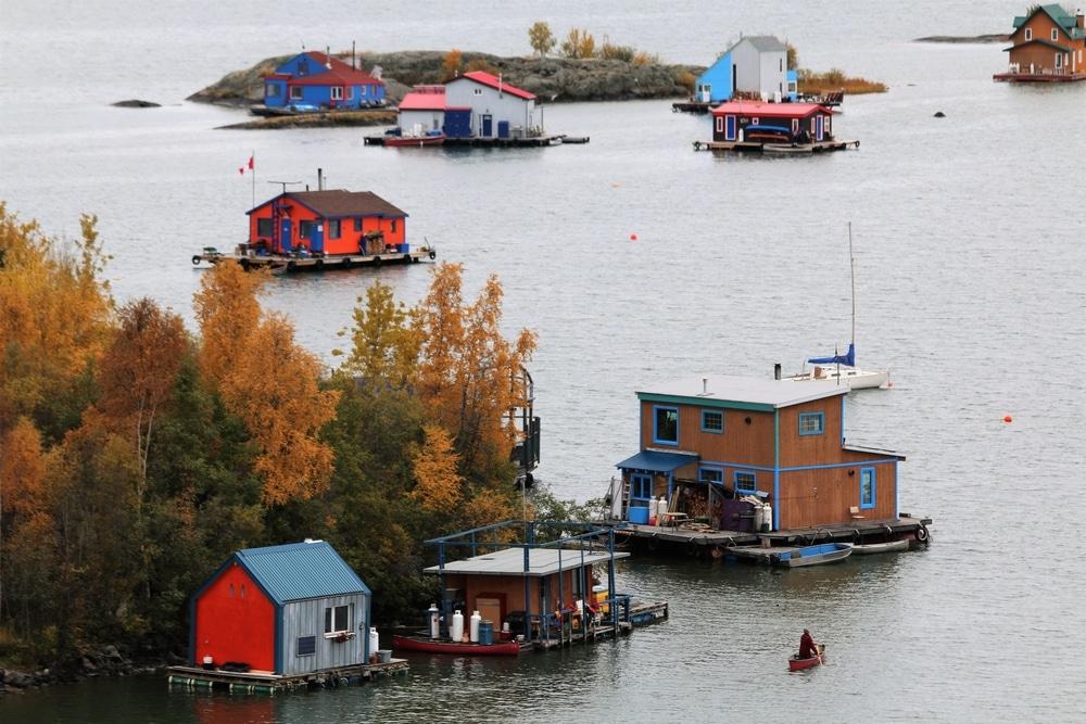 Baie de Yellowknife - Aurore