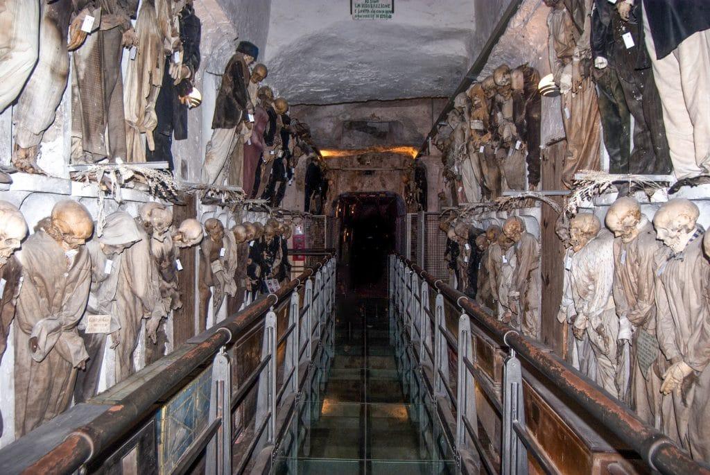 Catacombes des Capucins - Catacombes de la Porta d'Ossuna