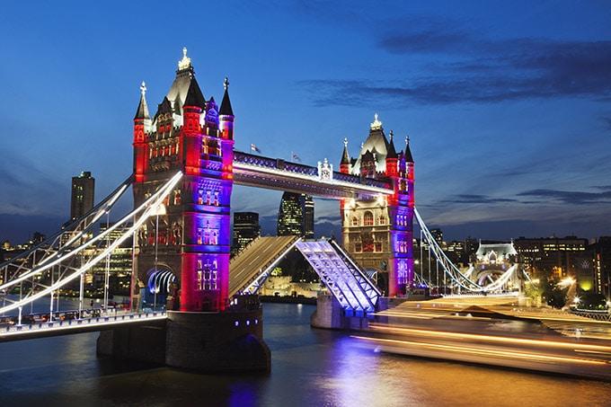 Tour de Londres - Pont de la Tour