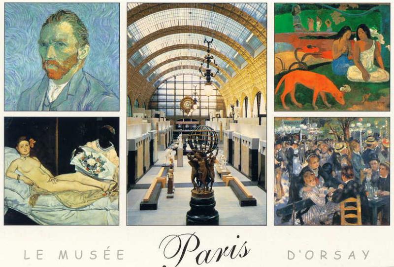 Musée d'Orsay - The Centre Pompidou