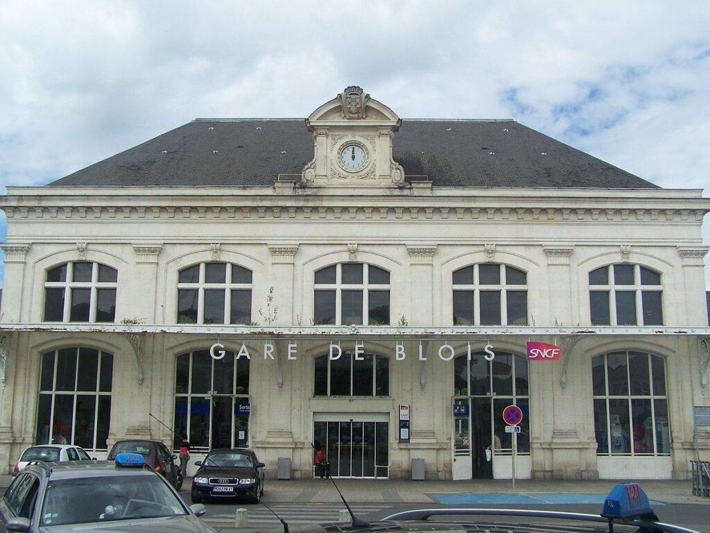 La gare de Blois