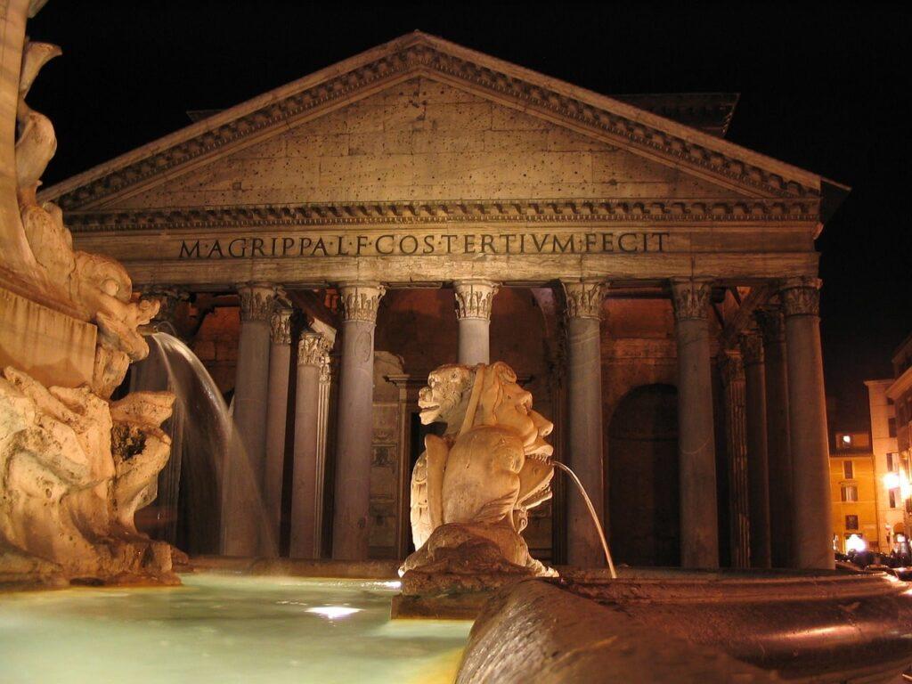 Panthéon - Fontaine de Trevi