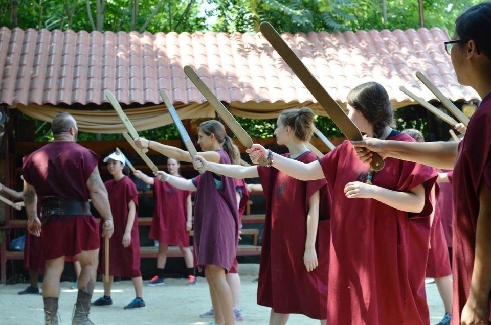Rome - Rome: 2heures d'école de gladiateurs
