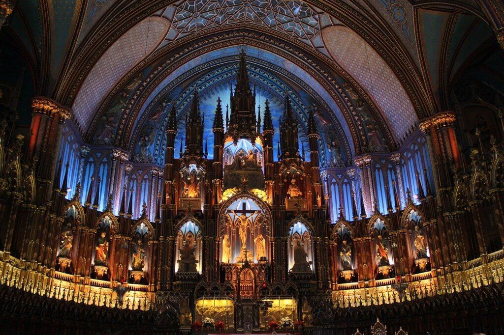 Notre-Dame Basilica of Montreal - Cathédrale Notre-Dame de Paris