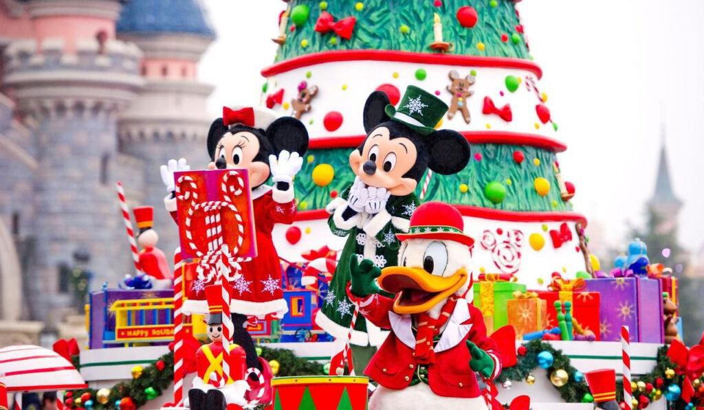 Visiter Disneyland Paris sous la neige