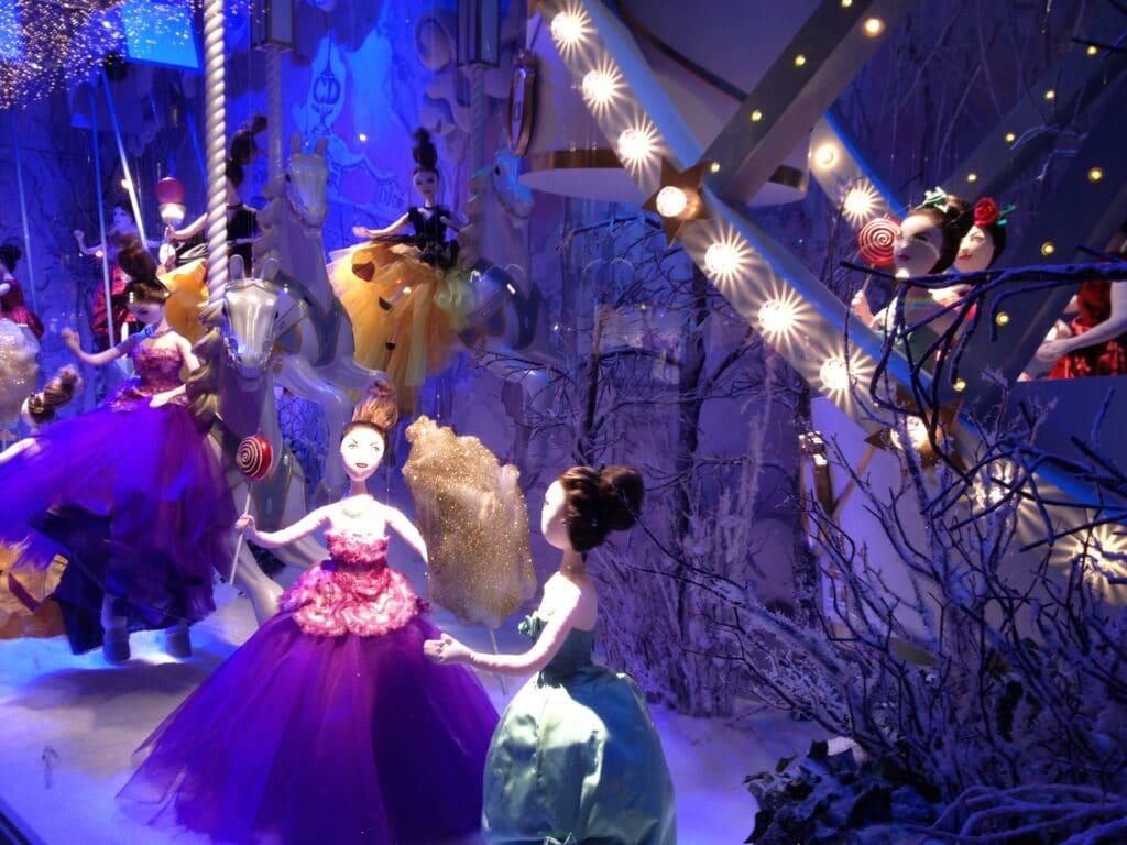 Fenêtre d'affichage - le jour de Noël