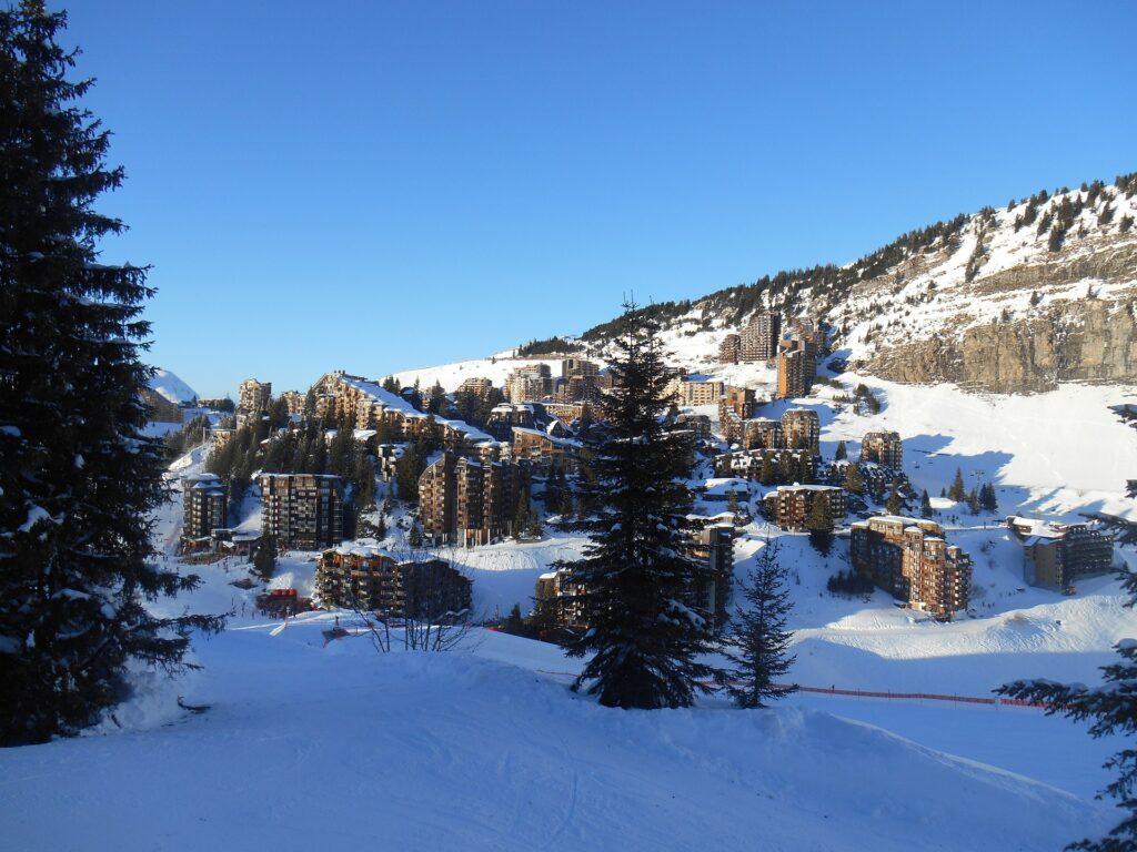 Skier à Avoriaz