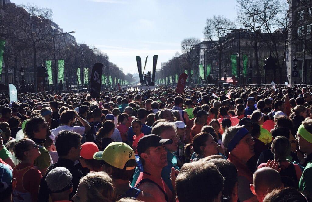Courir le marathon de Paris