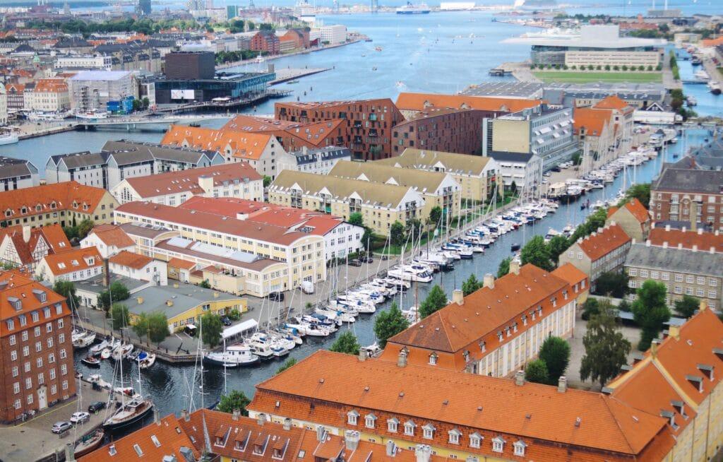 Naviguer à bord d'une croisière au départ de Copenhague