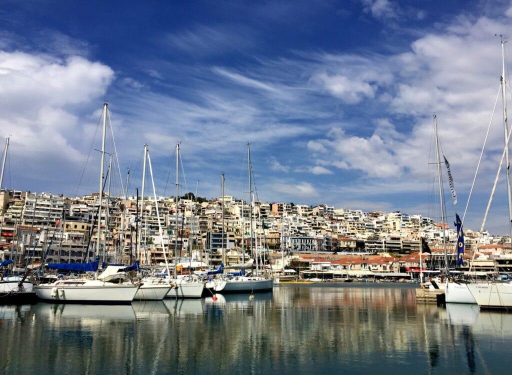 Comment se rendre au port de Pirée?