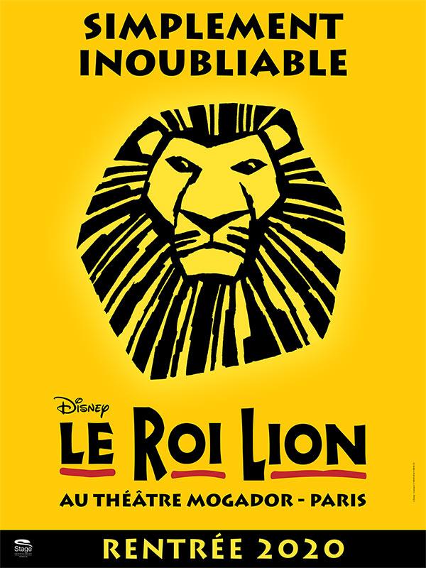 Billet Broadway Le Roi Lion - Mufasa