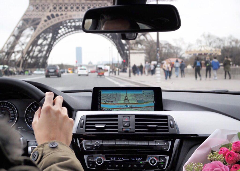 Aller à Paris depuis Bruxelles en voiture
