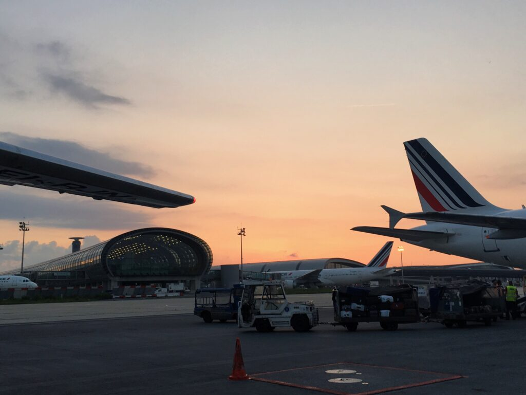 Aller à Paris depuis Bruxelles en avion