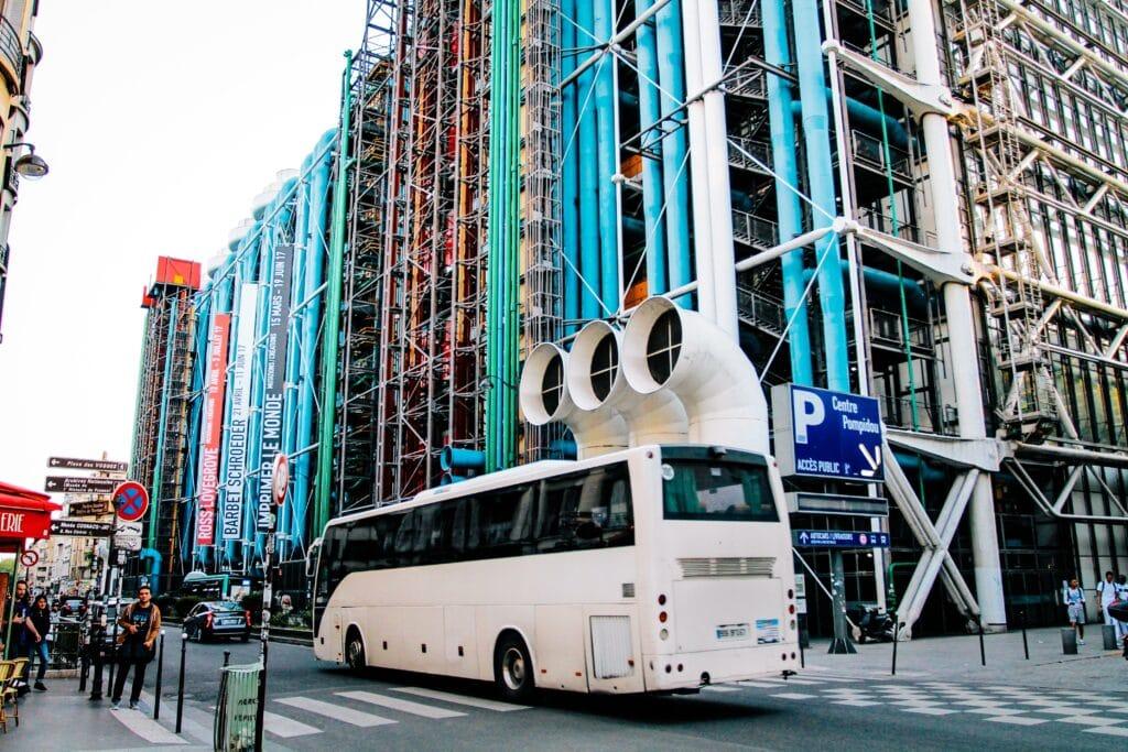 Aller à Paris depuis Bruxelles en bus