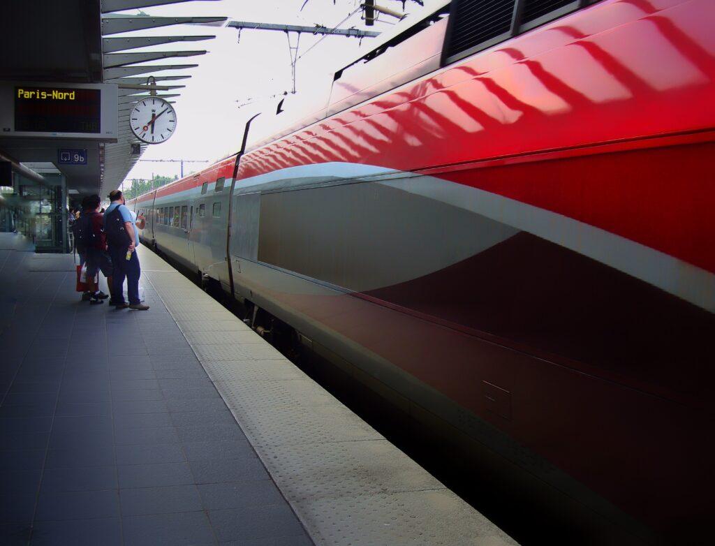 Aller à Paris depuis Bruxelles en train