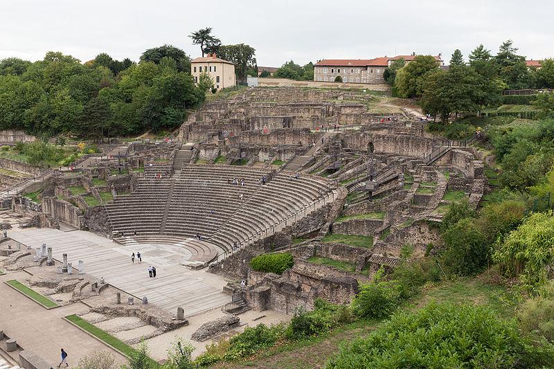 Théâtre antique de Lugdunum - Gallo-Roman Museum of Lyon-Fourvière