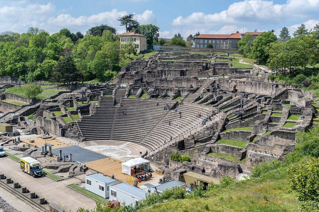 Gallo-Roman Museum of Lyon-Fourvière - Théâtre antique de Lugdunum