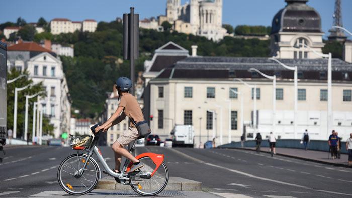 Lyon - Bicyclette