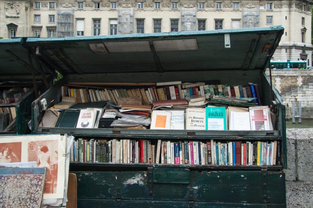 Le Marché aux livres anciens