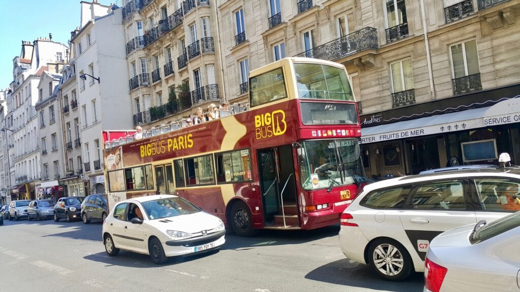 Les Cars rouges Big Bus Tours Paris