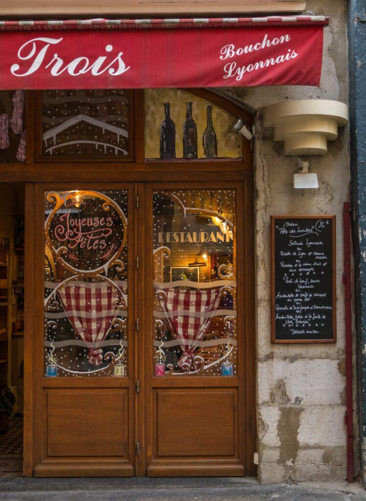 cuisine française - Le restaurant