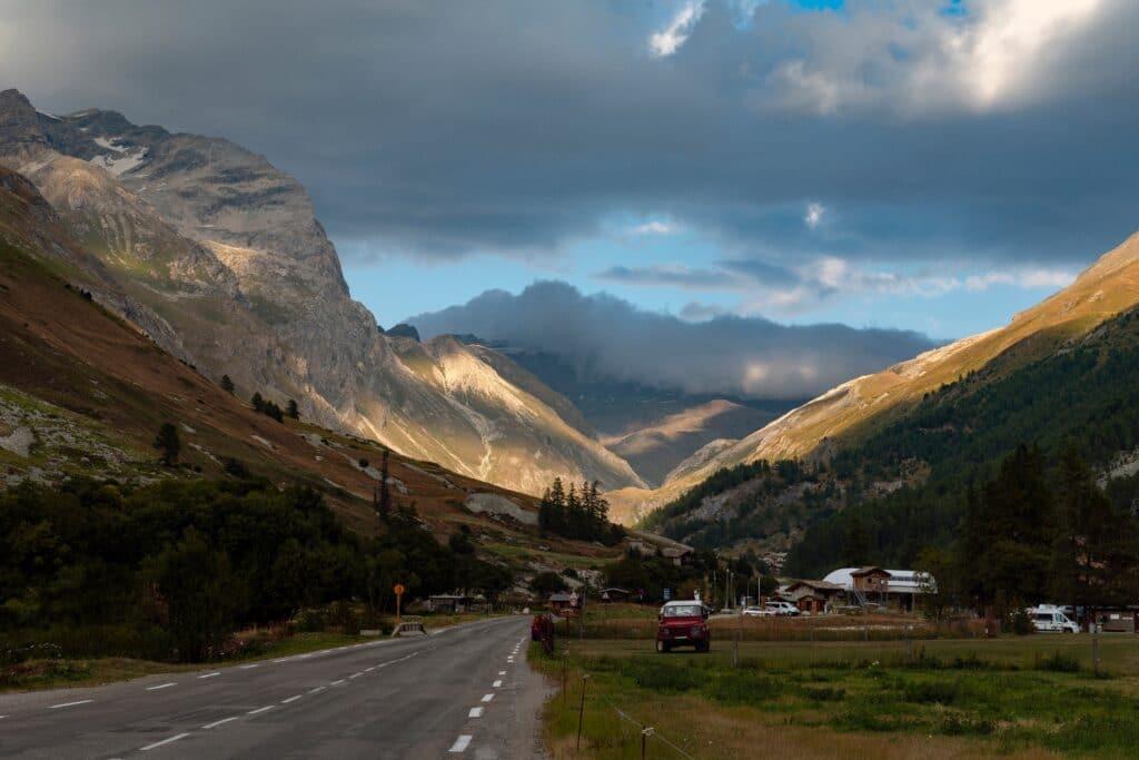 Alpes - Paysage du mont