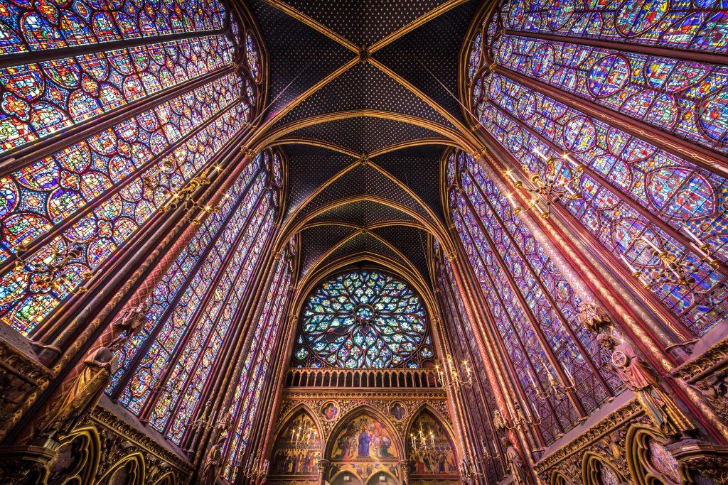 Sainte-Chapelle - Cathédrale Notre-Dame de Paris
