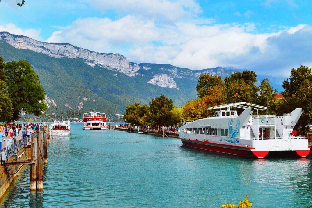 Profiter du lac d'Annecy