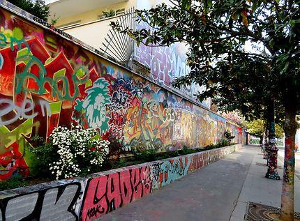 Le street-art et cinéma en plein air pour les ados