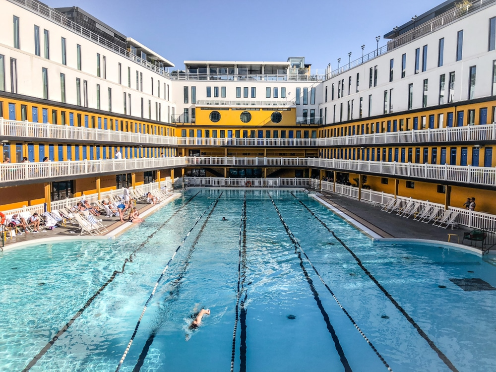 Butte-aux-Cailles swimming pool - Piscine