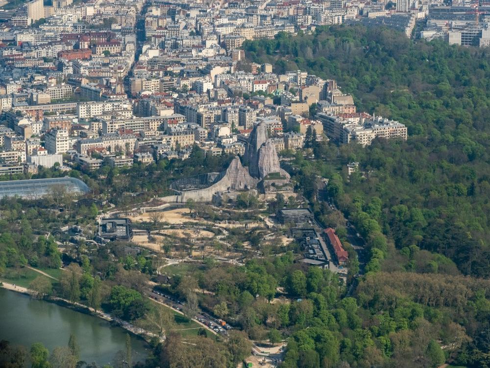 Le parc zoologique de Paris et ses animaux par milliers