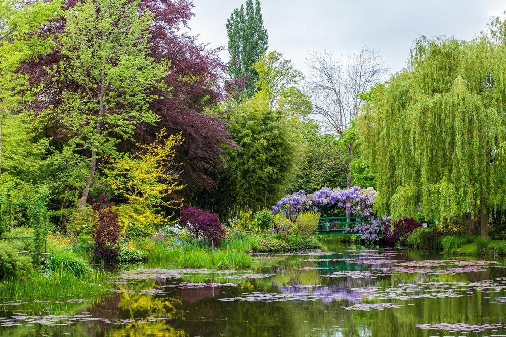 Se perdre dans les jardins de Giverny