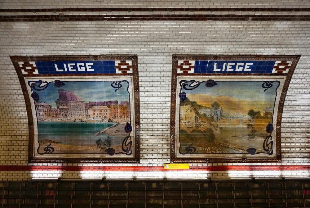 La station de Liège, ligne 13
