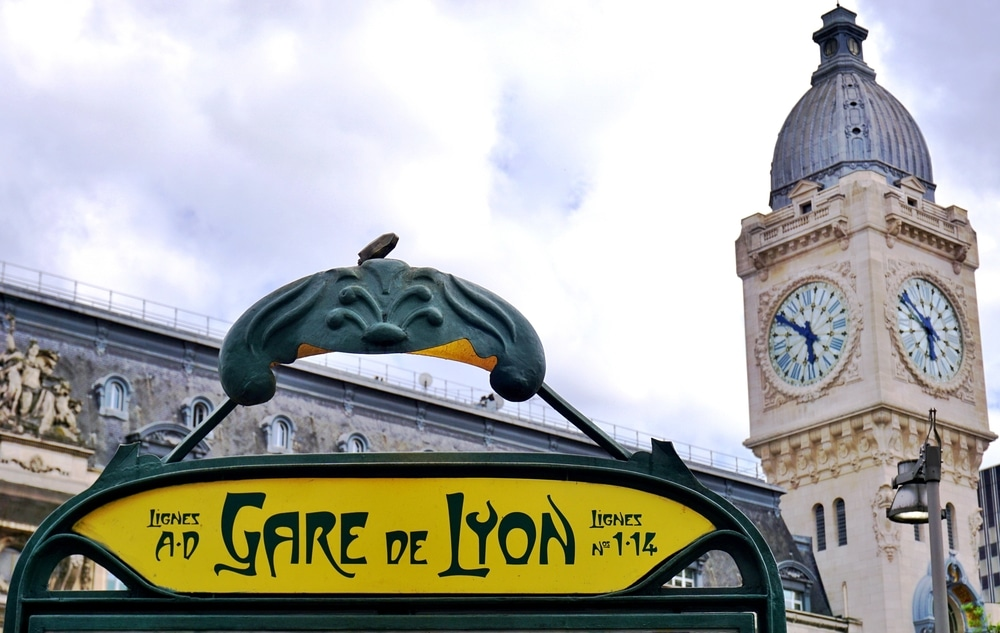 La station Gare de Lyon, ligne 14