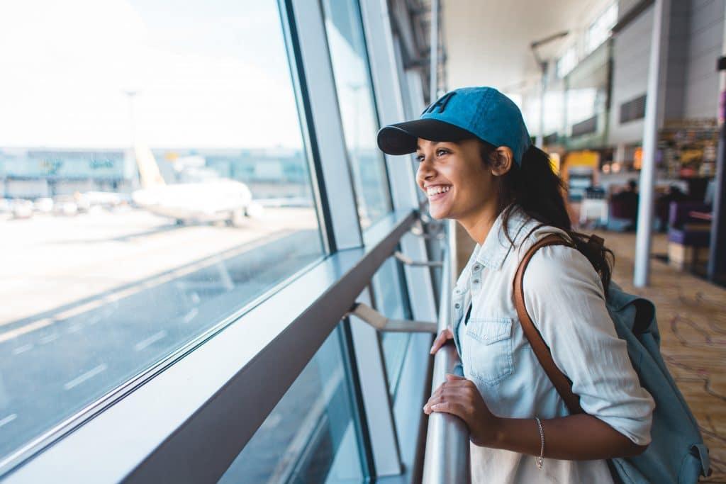 Voyage en avion - Aéroport