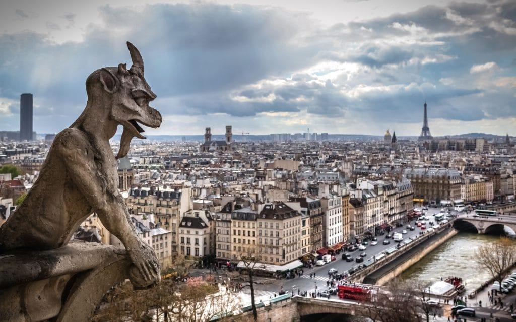 tour Eiffel - Gare de l'Est