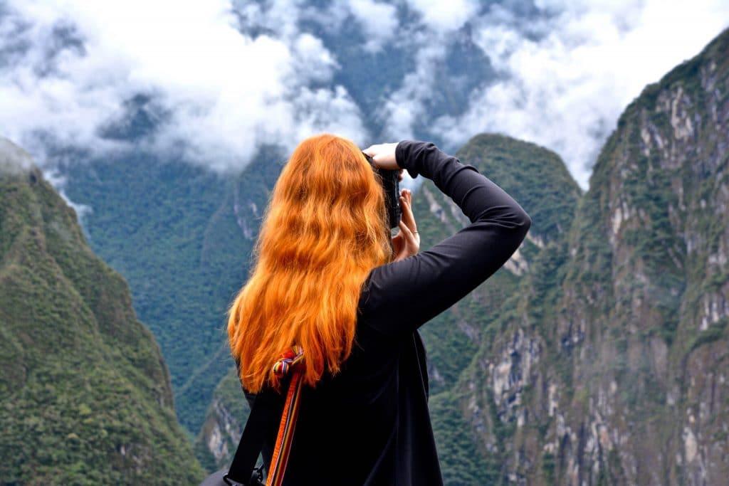 La photographie - cheveux roux