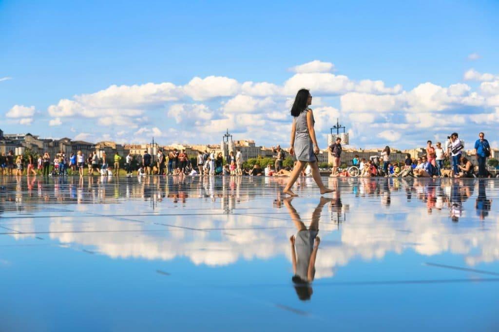 Le miroir d'eau - Image