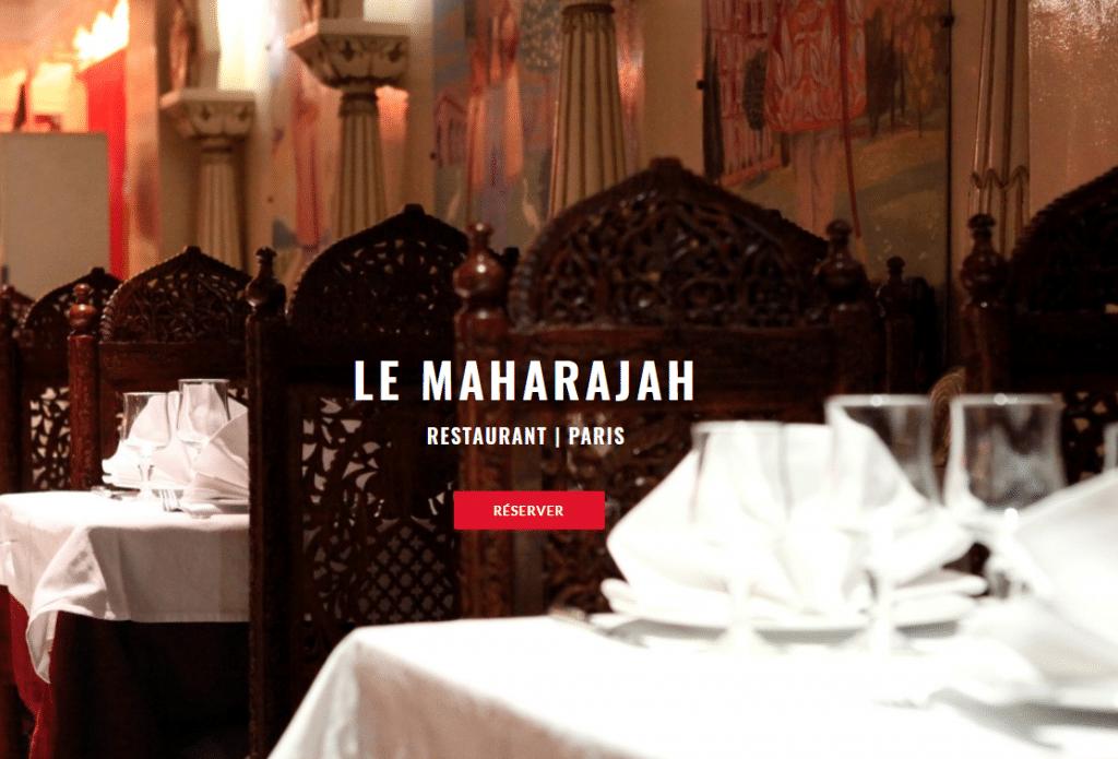 Le Maharajah - Le restaurant