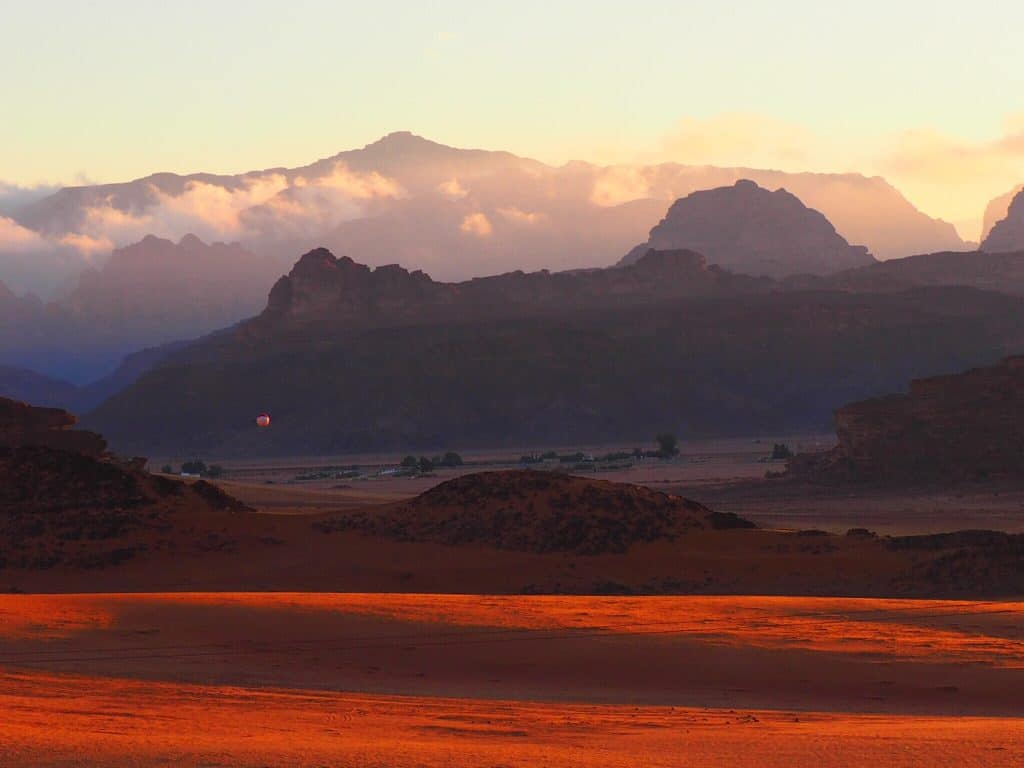 Le désert du Wadi Rum