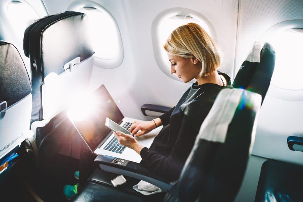 Voyage en avion - Voyage