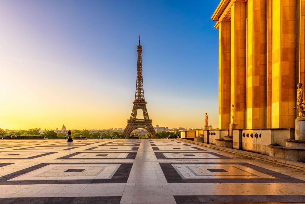 tour Eiffel - Place du Trocadéro et du 11 Novembre