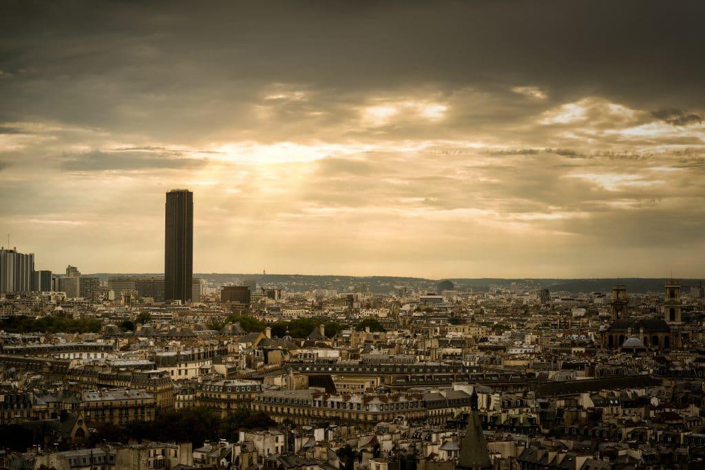 Tour Montparnasse - tour Eiffel