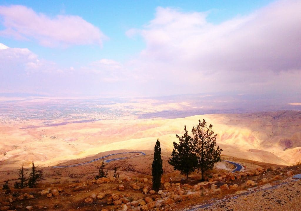 Le mont Nébo