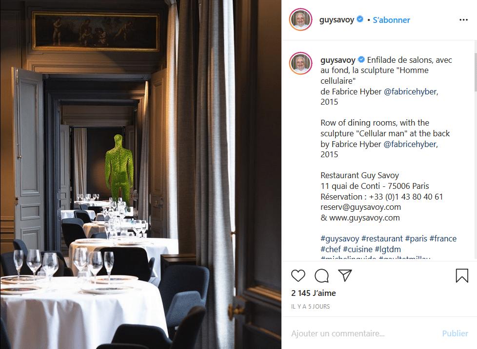 Beemédias - Le restaurant