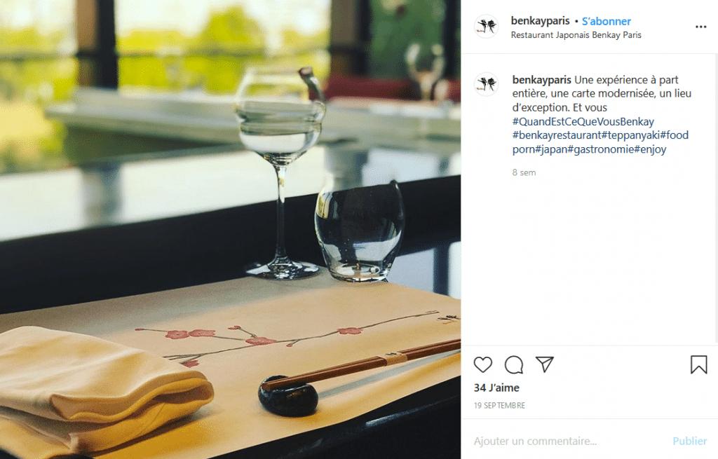 Tableau - Le restaurant